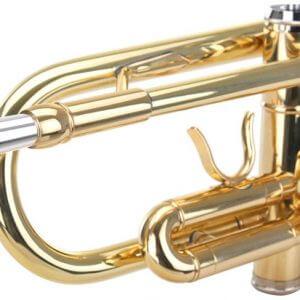 Mundrohr einer Trompete